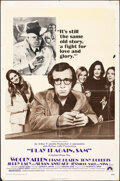 """Movie Posters:Comedy, Play It Again, Sam (Paramount, 1972). Folded, Very Good+. One Sheet (27"""" X 41""""). Comedy.. ..."""