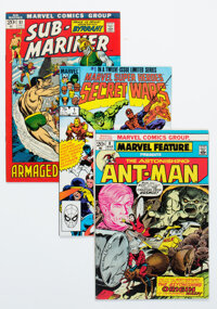 Silver to Modern Age Comics Group of 21 (Marvel/Archie, 1969-2001) Condition: Average FN/VF.... (Total: 21 )