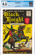 Golden Age (1938-1955):Adventure, Black Knight #1 (Atlas, 1955) CGC VG+ 4.5 Off-white to white pages....