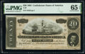 Confederate Notes:1864 Issues, T67 $20 1864 PF-26 Cr. 526 PMG Gem Uncirculated 65 EPQ.. ...