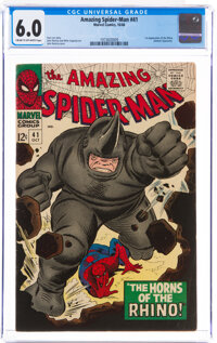 The Amazing Spider-Man #41 (Marvel, 1966) CGC FN 6.0 Cream to off-white pages