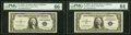 Small Size:Silver Certificates, Fr. 1616 $1 1935G No Motto Silver Certificate. PMG Gem Unc...