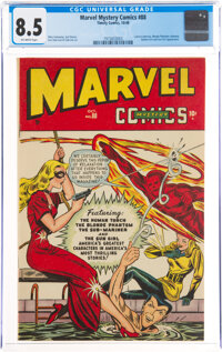 Marvel Mystery Comics #88 (Timely, 1948) CGC VF+ 8.5 Off-white pages
