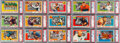 Football Cards:Sets, 1955 Topps Football High-End Complete Set (100). ...