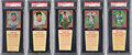 Baseball Cards:Sets, 1958 Hires Root Beer Complete Set with Tabs (66).