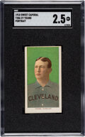 Baseball Cards:Singles (Pre-1930), 1909-11 T206 Sweet Caporal 350/30 Cy Young (Portrait) SGC ...