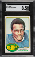 Football Cards:Singles (1970-Now), 1976 Topps Walter Payton #148 SGC NM/MT+ 8.5. The ...