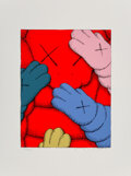 Prints & Multiples, KAWS (b. 1974). Untitled from Urge, 2020. Screenprint in color on Saunders Waterford HP hi-white paper. 17 x 12-3/4 ...