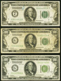 Small Size:Federal Reserve Notes, Fr. 2150-G $100 1928 Federal Reserve Note. Very Fine-Extre...