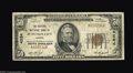 National Bank Notes:Kansas, Junction City, KS - $50 1929 Ty. 1 The Central NB Ch. #...