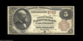 National Bank Notes:Kentucky, Covington, KY - $5 1882 Brown Back Fr. 466 The Farmers & ...