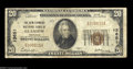National Bank Notes:Kentucky, Glasgow, KY - $20 1929 Ty. 1 The New Farmers NB Ch. # ...