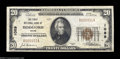 National Bank Notes:Maine, Biddeford, ME - $20 1929 Ty. 1 The First NB Ch. # 1089