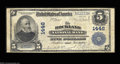National Bank Notes:Maine, Rockland, ME - $5 1902 Plain Back Fr. 598 The Rockland ...