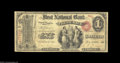 National Bank Notes:Maryland, Frederick, MD - $1 Original Fr. 380 The First NB Ch. # ...