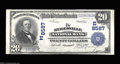 National Bank Notes:Maryland, Sykesville, MD - $20 1902 Plain Back Fr. 652 The ...