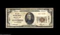 National Bank Notes:Missouri, Bolivar, MO - $20 1929 Ty. 1 The First NB Ch. # 7271