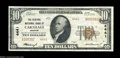 National Bank Notes:Missouri, Carthage, MO - $10 1929 Ty. 2 The Central NB Ch. # ...