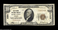 National Bank Notes:Missouri, King City, MO - $10 1929 Ty. 1 The Citizens NB Ch. # ...