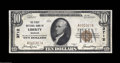 National Bank Notes:Missouri, Liberty, MO - $10 1929 Ty. 1 The First NB Ch. # 3712