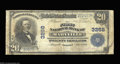 National Bank Notes:Missouri, Maryville, MO - $20 1902 Plain Back Fr. 650 The First NB