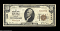 National Bank Notes:Missouri, Memphis, MO - $10 1929 Ty. 1 The Scotland County NB Ch....