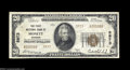 National Bank Notes:Missouri, Monett, MO - $20 1929 Ty. 2 The First NB Ch. # 5973
