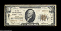 National Bank Notes:Missouri, Perryville, MO - $10 1929 Ty. 2 The First NB Ch. # ...