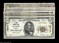 National Bank Notes:Missouri, A Starter Collection of 1929 Series St. Louis National Bank ... (9notes)