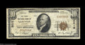 National Bank Notes:Missouri, Sarcoxie, MO - $10 1929 Ty. 1 The First NB Ch. # 5515