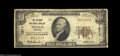National Bank Notes:Missouri, Sedalia, MO - $10 1929 Ty. 1 The Citizens NB Ch. # ...