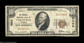 National Bank Notes:Missouri, Unionville, MO - $10 1929 Ty. 1 The Marshall NB Ch. # ...