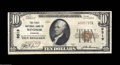 National Bank Notes:Missouri, Windsor, MO - $10 1929 Ty. 1 The First NB Ch. # 9519