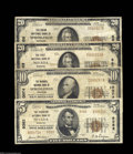National Bank Notes:Missouri, Four Different Missouri 1929 Series National Bank Notes