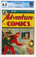 Golden Age (1938-1955):Superhero, Adventure Comics #62 (DC, 1941) CGC FN+ 6.5 Off-white to white pages....