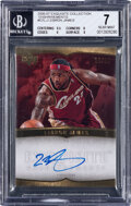 Basketball Cards:Singles (1980-Now), 2006 Exquisite Collection LeBron James (Enshrinements) #EX...