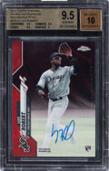 Baseball Cards:Singles (1970-Now), 2020 Topps Chrome Rookie Autographs Luis Robert (Red Refra...