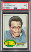 Football Cards:Singles (1970-Now), 1976 Topps Walter Payton #148 PSA Mint 9. The offi...