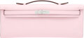 Luxury Accessories:Bags, Hermès Rose Sakura Swift Leather Kelly Cut Clutch with Pa...