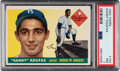Baseball Cards:Singles (1950-1959), 1955 Topps Sandy Koufax #123 PSA NM 7. or the many...
