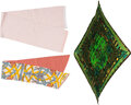 Luxury Accessories:Accessories, Hermès and Fendi: Silk and Wool Scarves Con...