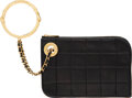 Luxury Accessories:Bags, Chanel Black Lambskin Leather Handcuff Wristlet with Gold ...