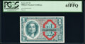 Military Payment Certificates:Series 611, Series 611 $1 Two Examples. PCGS Currency Gem New 65PPQ.. ... (Total: 2 notes)
