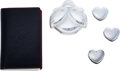 Luxury Accessories:Home, Chopard Set of Five: Pillboxes, Case, and Notepad. Condition: 4. See Extended Condition Report for ...