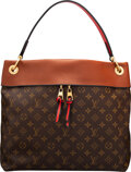 """Luxury Accessories:Bags, Louis Vuitton Monogram Coated Canvas Tuileries Besace Bag. Condition: 1. 14"""" Width x 11"""" Height x 5.5"""" Depth. ..."""