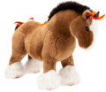 """Luxury Accessories:Home, Hermès Hermy Large Plush Horse. Condition: 1. 19"""" Width x 13"""" Height x 7"""" Depth. ..."""
