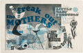 Music Memorabilia:Posters, Frank Zappa / Mothers of Invention 1966 Shrine Expo Hall, Los Angeles Concert Poster....