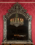 Decorative Accessories, A Large Venetian Murano Glass Mirror, early 20th century. 88 x 56 x 1-1/4 inches (223.5 x 142.2 x 3.2 cm). ...