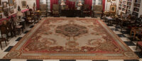 A French Aubusson Palatial Tapestry, circa 1820 306 x 213 inches (777.2 x 541.0 cm)