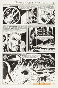Jack Abel Our Fighting Forces #113 Story Page 6 Original Art (DC, 1968)
